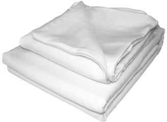 Natural Comfort Matelasse Duvet Cover ; Natural White ; Queen