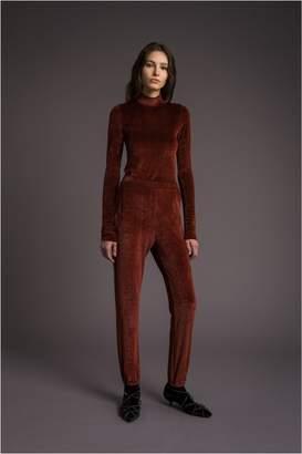 Sonia Rykiel Velvet Sweatpants