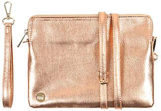 Mi-Pac Metallic Cross Body Clutch Bag