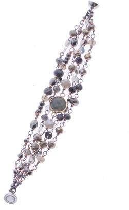 Nakamol Design Crystal & Labradorite Beaded Magnetic Bracelet