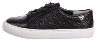 Tory Burch Quilted Low-Top Sneakers