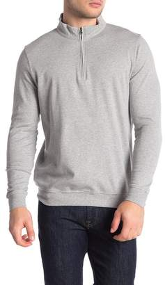 Tailorbyrd Jersey Solid Quarter Zip Pullover
