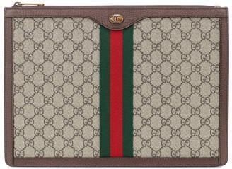 Gucci GG Supreme Portfolio pouch