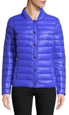 Via Spiga Quilted Packable Down Coat