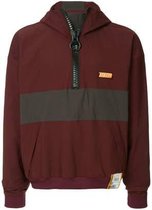 Miharayasuhiro front zipped jumper