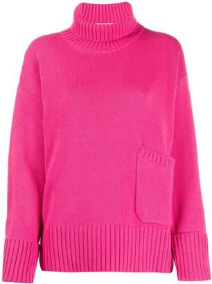 Lamberto Losani patch pocket sweater
