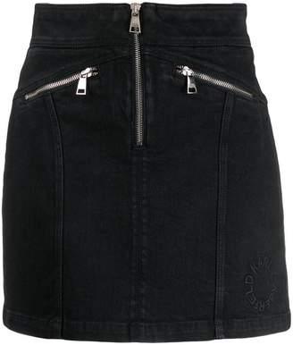 Karl Lagerfeld Paris zip-up denim skirt