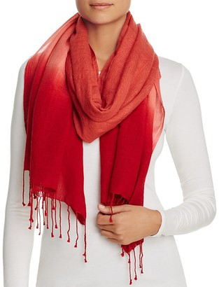 Eileen Fisher Ombré Fringe Scarf $98 thestylecure.com