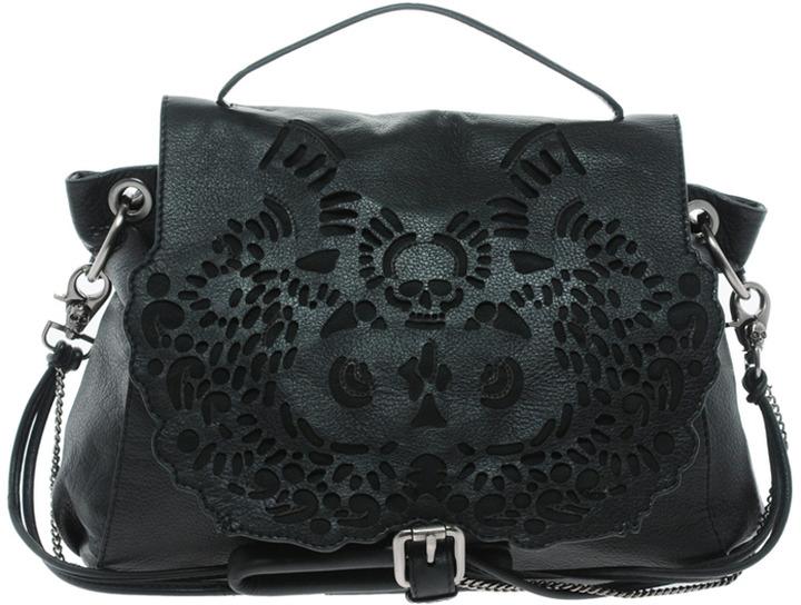 Ameko Amused by Laser Cut Leather Bag