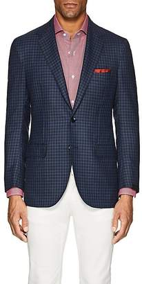 Sartorio Men's PG Checked Wool Twill Two-Button Sportcoat