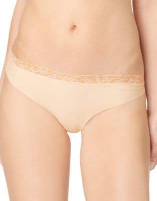Calvin Klein Invisibles Lace Trim Thong