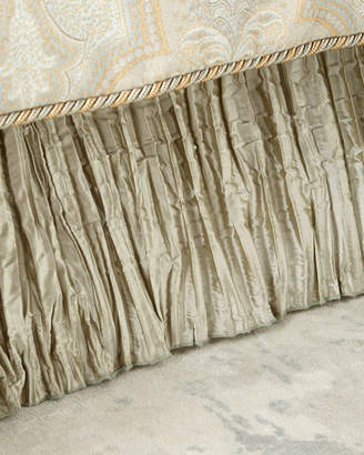 Laurèl Austin Horn Classics Queen Pleated Silk Dust Skirt