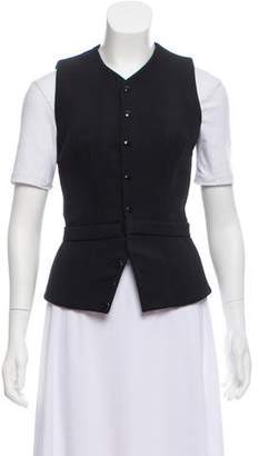 Balenciaga Fitted Button-Up Vest