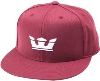 Supra Icon Snapback Hat Burgundy