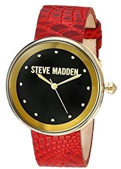 Steve Madden (スティーブ マデン) - Steve Maddenユニセックスsmw044ゴールド腕時計