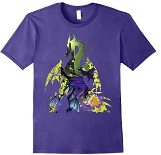 Disney Sleeping Beauty Maleficent Dragon Silhouette T-Shirt