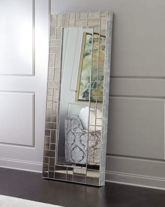 At Neiman Marcus Hooker Furniture Solana Floor Mirror With Jewelry Storage