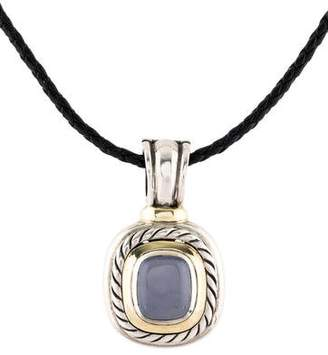 David Yurman Chalcedony Albion Cable Enhancer
