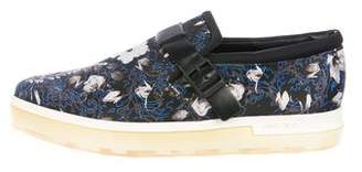 Jimmy Choo Printed Slip-On Sneakers