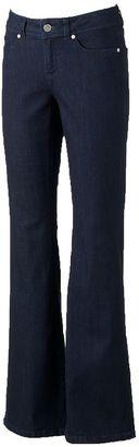 Women's LC Lauren Conrad Flare Leg Jeans $50 thestylecure.com