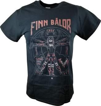 Freeze Finn Balor Vitruvian Man WWE Mens T-shirt-3XL