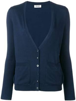 Liu Jo (リュー ジョー) - Liu Jo long-sleeve fitted cardigan