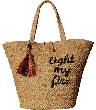 Hat Attack - The Doors Light My Fire Tote Tote Handbags $115 thestylecure.com