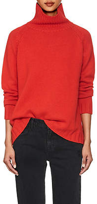 Barneys New York Women's Cashmere Turtleneck Sweater - Red