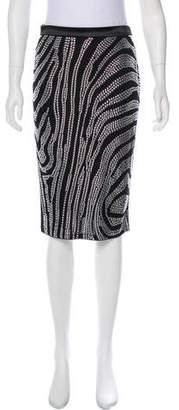 Tom Ford Embellished Knee-Length Skirt