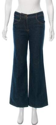 Chloé Mid-Rise Wide-Leg Jeans w/ Tags