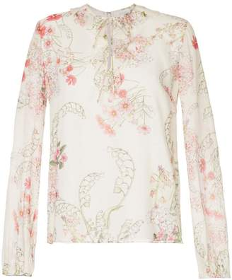 Giambattista Valli floral print blouse