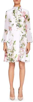 Ted Baker Beccaa Harmony Ruffled Dress