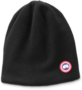 Canada Goose Men's Standard Logo Toque Winter Beanie Hat