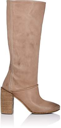 Marsèll Women's Distressed Leather Knee Boots