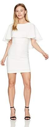 Calvin Klein Women's Petite Solid Caplet Pop Over Dress