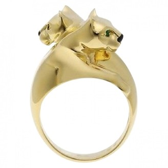 Cartier Vintage Panthere Yellow Yellow gold Ring
