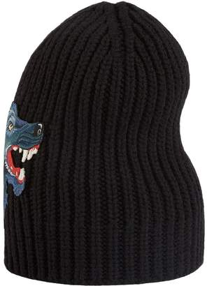 Gucci Wool hat with wolf