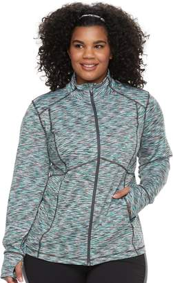 Tek Gear Plus Size Zip-Up Performance Jacket