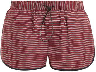 The Upside Rum and Raisin linen-blend shorts
