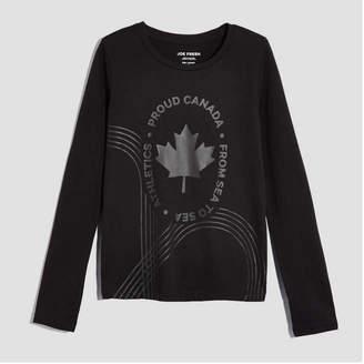 Joe Fresh Kid Girls' Canada Long Sleeve Tee