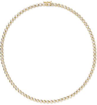 Jennifer Meyer 18-karat Gold Diamond Necklace