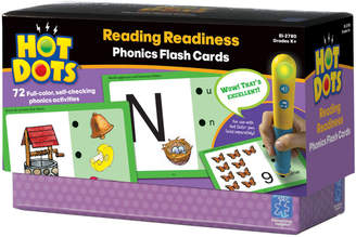 Educational Insights Hot Dots Reading Readiness Phonics Flash Cards