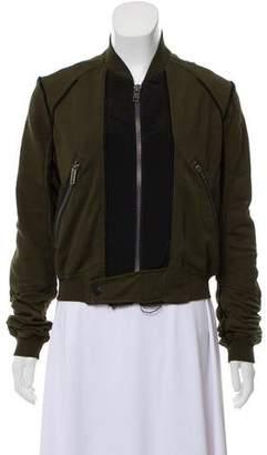 Haider Ackermann Accented Bomber Jacket