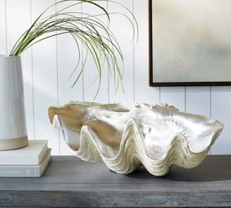 Pottery Barn Silver Clam Shell