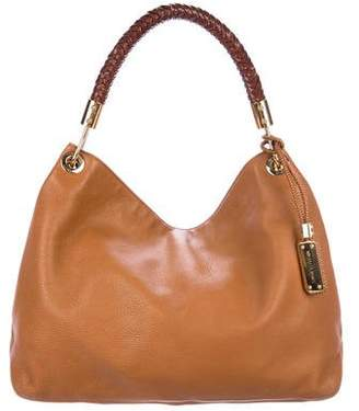 Pre Owned At Therealreal Michael Kors Leather Skorpios Hobo