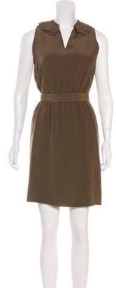 Luciano Barbera Silk Mini Dress