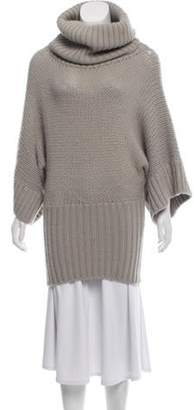 Dolce & Gabbana Heavyweight Alpaca Sweater Grey Heavyweight Alpaca Sweater