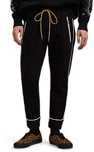RHUDE Men's Drawstring Track Pants - Black