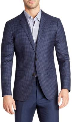 Bonobos Jetsetter Slim Fit Stretch Check Wool Blazer