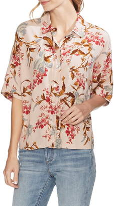 Vince Camuto Graceful Wildflower Dolman Sleeve Blouse